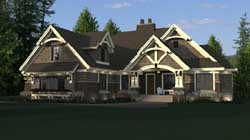 Craftsman Style House Plans Plan: 38-512