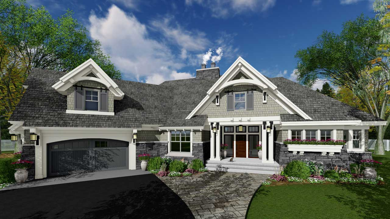 Craftsman Style House Plans Plan: 38-514