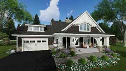 Craftsman Style Floor Plans Plan: 38-522