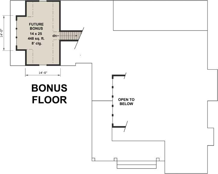 Bonus Floor Plan: 38-525