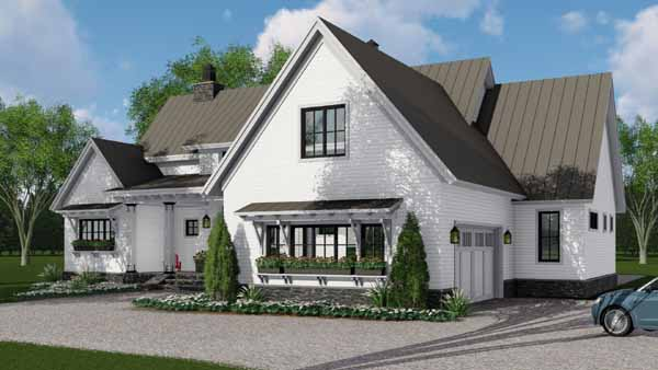 Modern-farmhouse Style Floor Plans