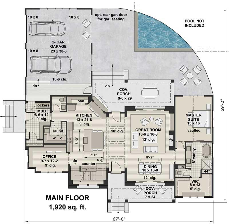 Main Floor Plan: 38-534