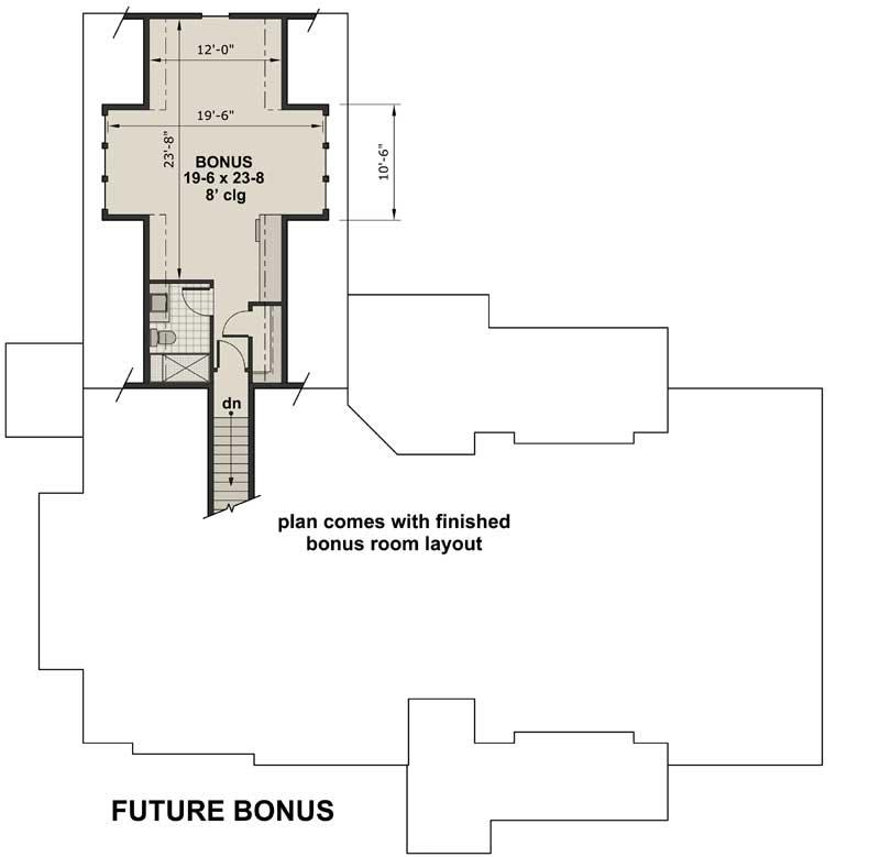 Bonus Floor Plan: 38-535