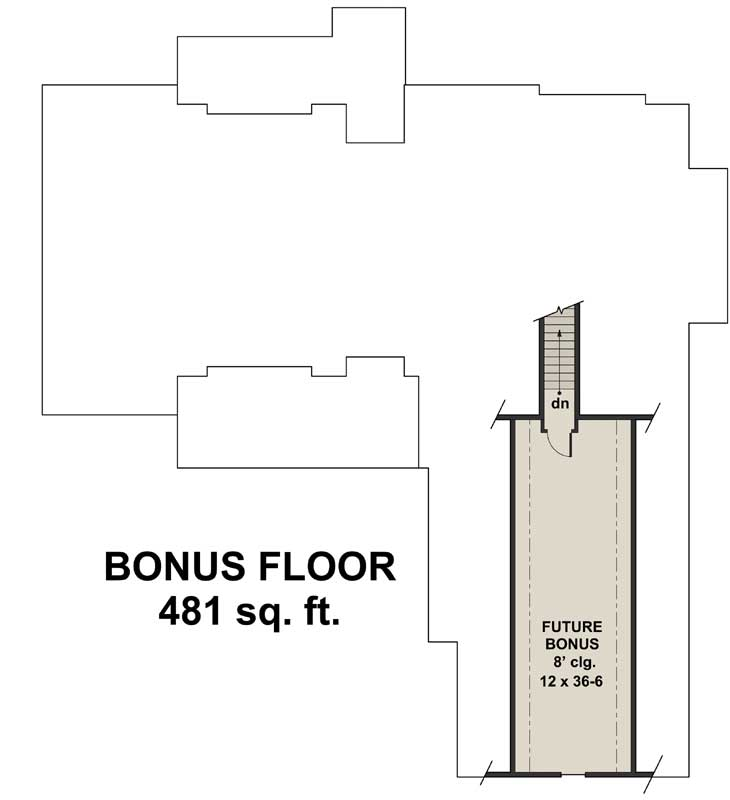 Bonus Floor Plan: 38-536
