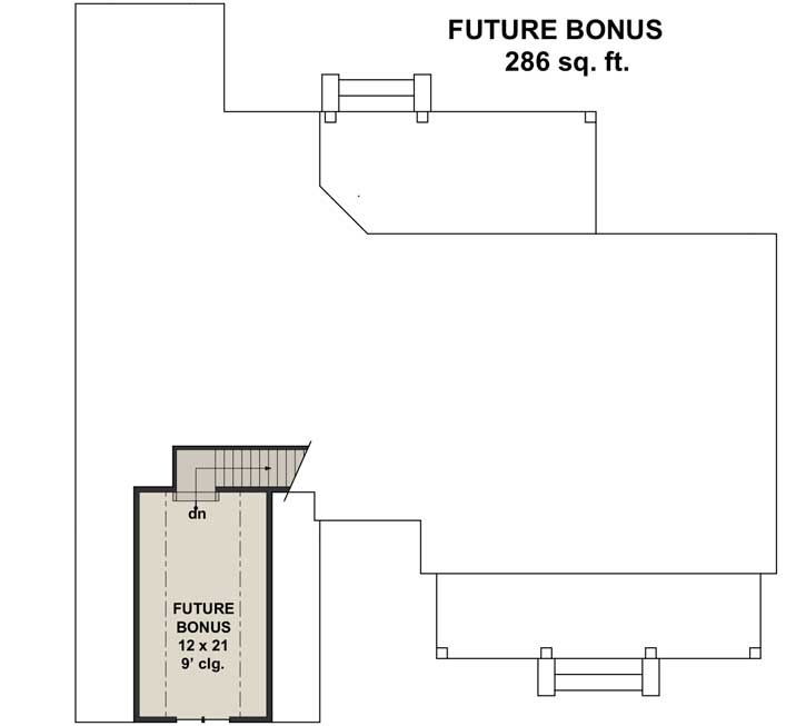Bonus Floor Plan: 38-539