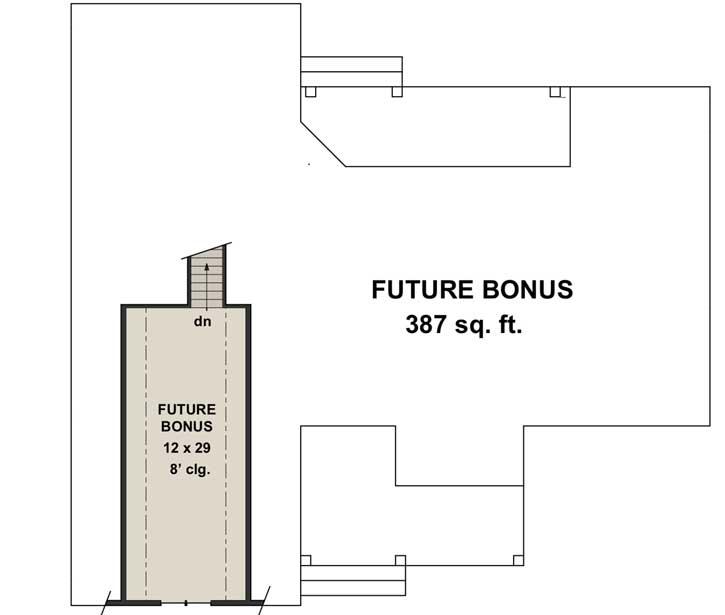 Bonus Floor Plan: 38-540
