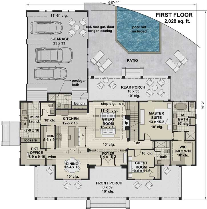 Main Floor Plan: 38-545