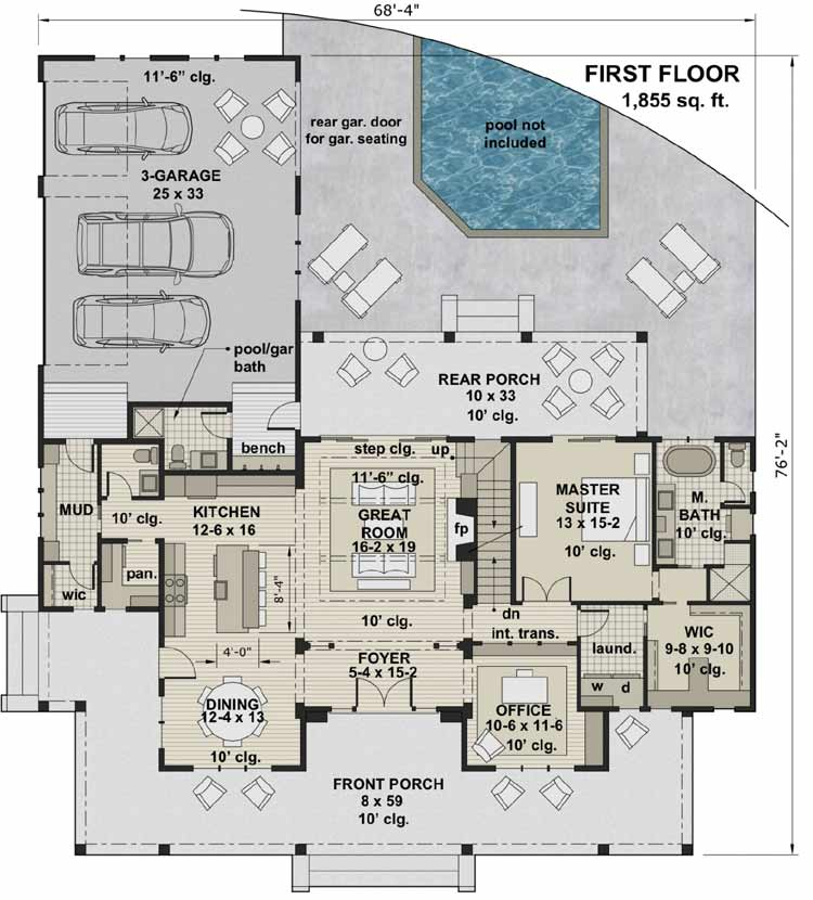 Main Floor Plan: 38-546