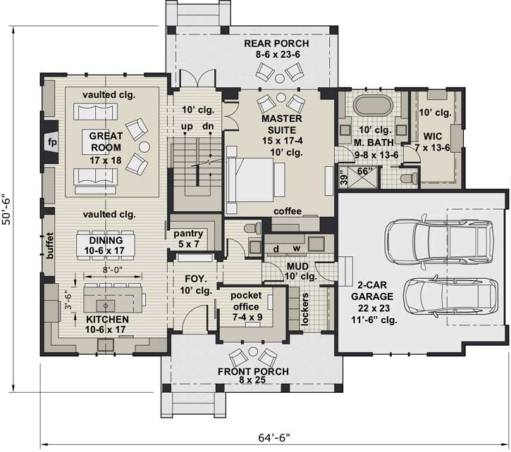 Main Floor Plan: 38-547