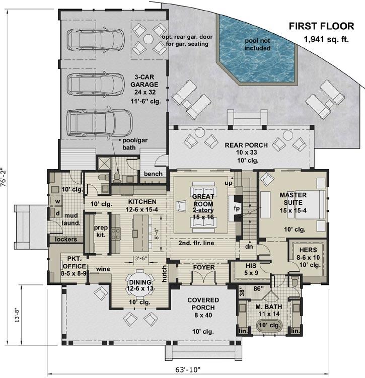 Main Floor Plan: 38-548