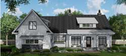 Modern-Farmhouse Style Floor Plans Plan: 38-552