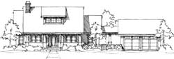 Bungalow Style Floor Plans Plan: 39-101
