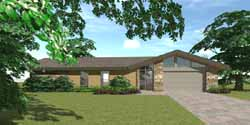 Contemporary Style House Plans Plan: 39-102