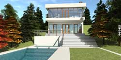 Modern Style House Plans Plan: 39-107