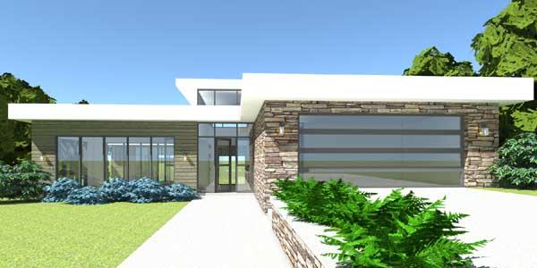 Modern Style House Plans Plan: 39-108