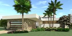 Modern Style Home Design Plan: 39-110