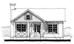 Cottage Style House Plans Plan: 39-122