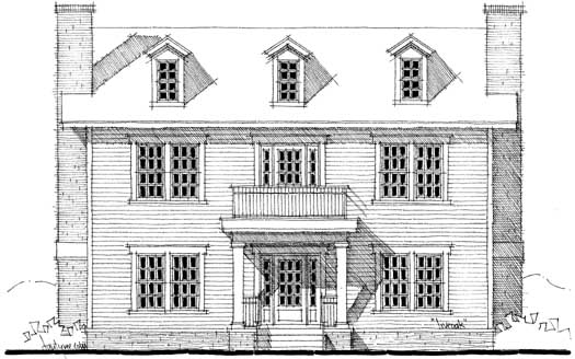 Early-american Style House Plans Plan: 39-125