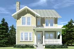Craftsman Style House Plans Plan: 39-130
