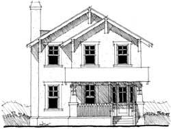Craftsman Style House Plans Plan: 39-134
