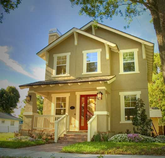 Bungalow Style Home Design Plan: 39-136