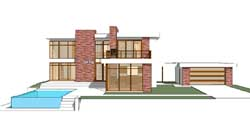 Modern Style House Plans Plan: 39-137