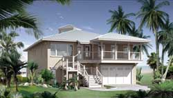 Coastal Style House Plans Plan: 39-138