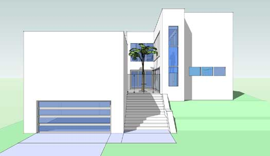Modern Style House Plans Plan: 39-146