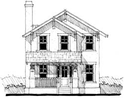 Craftsman Style House Plans Plan: 39-153
