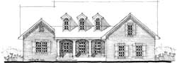 Southern Style House Plans Plan: 39-154