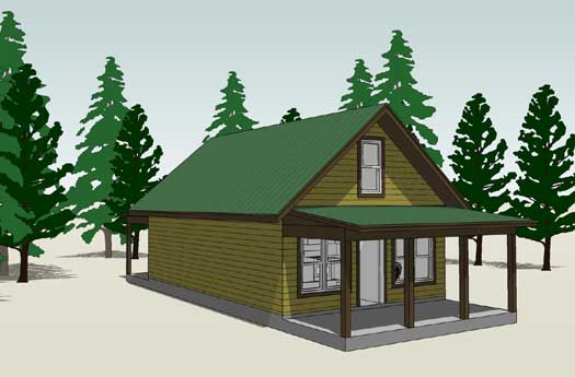 Country House Plan 2 Bedrooms 1 Bath 860 Sq Ft Plan 39 163