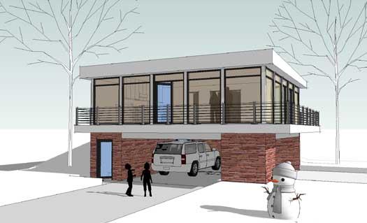 Modern Style House Plans Plan: 39-167