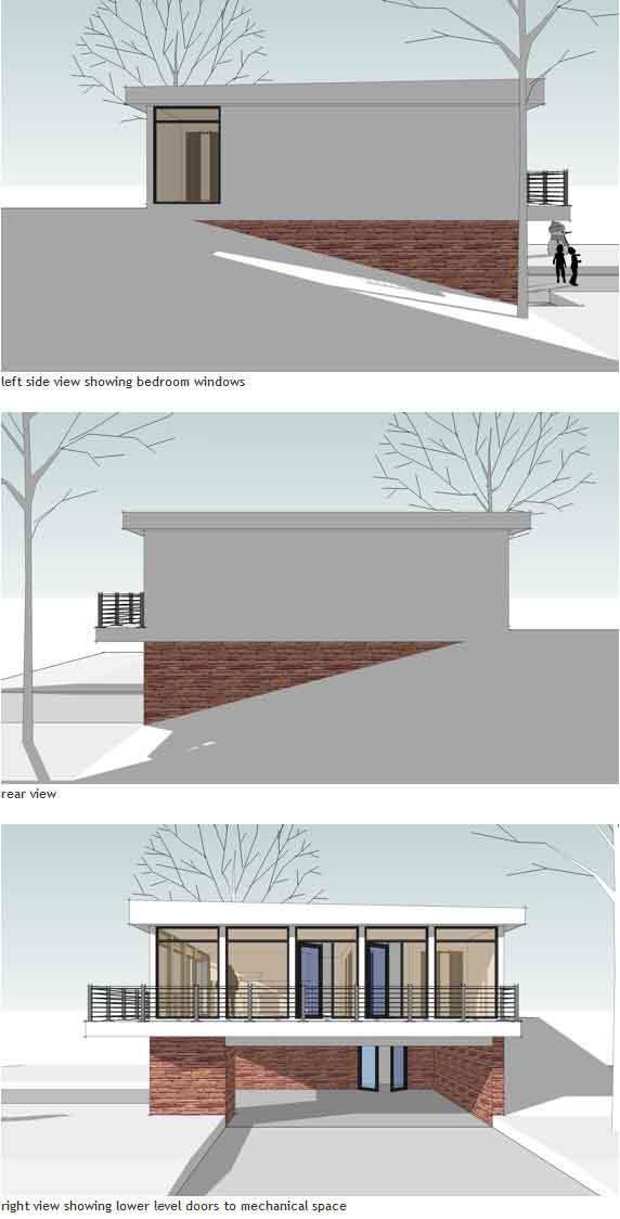 Rear Elevation Plan: 39-167
