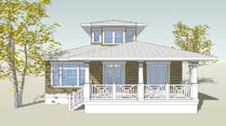 Coastal Style Floor Plans Plan: 39-169