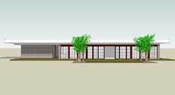 Modern Style Home Design Plan: 39-171
