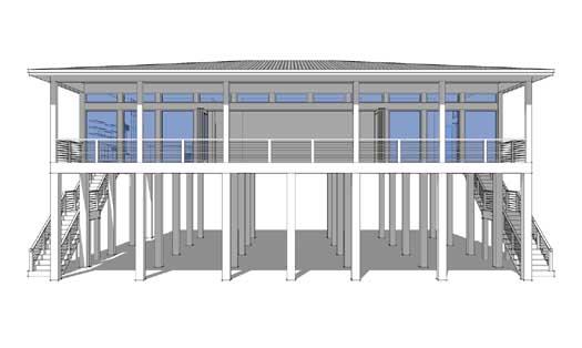Modern Style House Plans Plan: 39-173