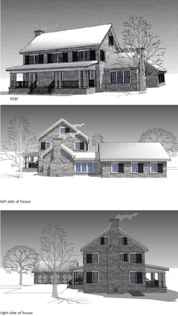 Rear Elevation Plan: 39-177
