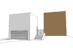 Modern Style Home Design Plan: 39-178