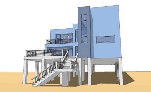 Modern Style House Plans Plan: 39-179