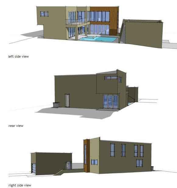 Rear Elevation Plan: 39-180