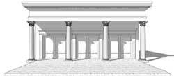 Greek-Revival Style House Plans Plan: 39-186