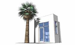 Modern Style Home Design Plan: 39-192