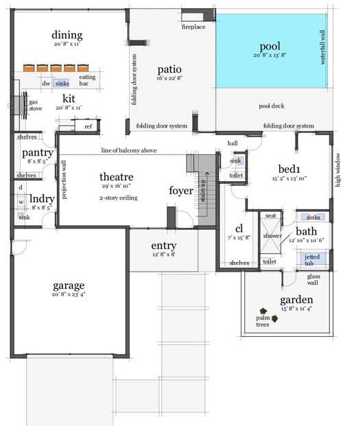 Main Floor Plan: 39-195