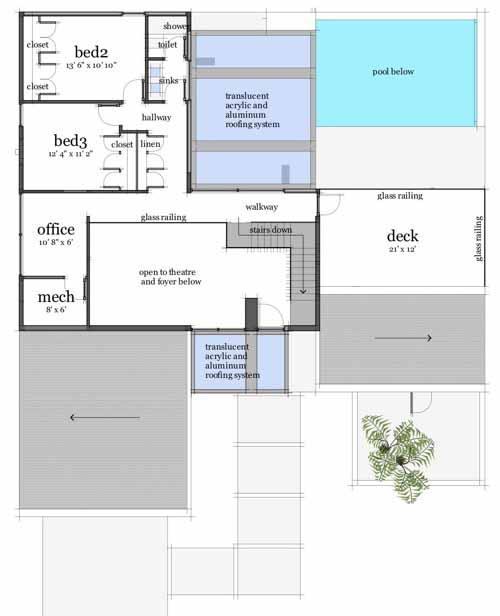 Upper/Second Floor Plan: 39-195