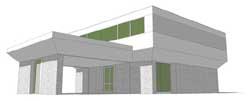 Modern Style House Plans Plan: 39-199