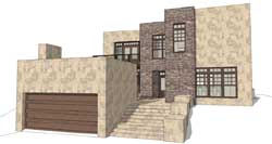 Modern Style Floor Plans Plan: 39-202