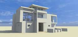 Modern Style House Plans Plan: 39-204