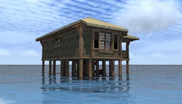 Coastal Style House Plans