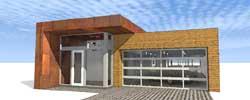 Modern Style House Plans Plan: 39-207