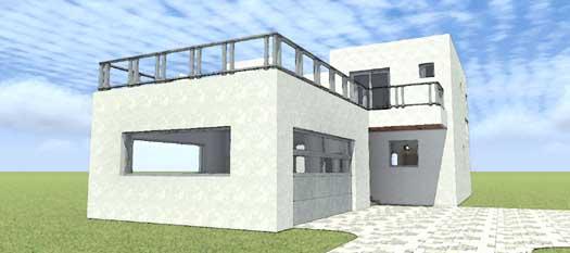 Modern Style House Plans Plan: 39-210